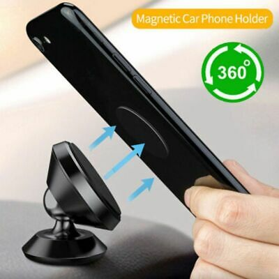 Smart Phone Holder Dashboard GPS Mount Universal 360 In Car Dash Magnetic