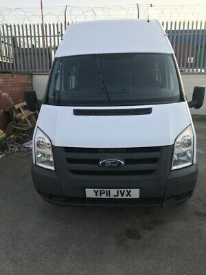 Ford Transit MK7 LWB Hi-Top Crew van / mess van 11 plate, price Includes VAT!