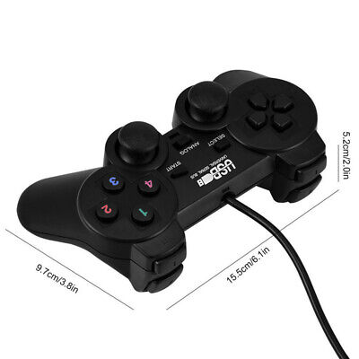 Wired USB Gamepad Game Gaming Controller Joypad Joystick Control for PC CompZzZ