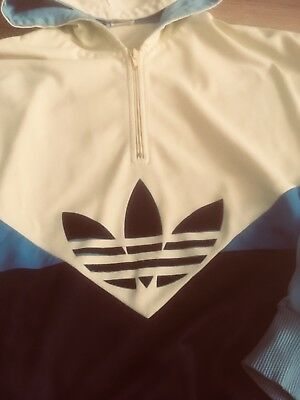 Adidas Tracktop Vintage Made In West-Germany Size M.