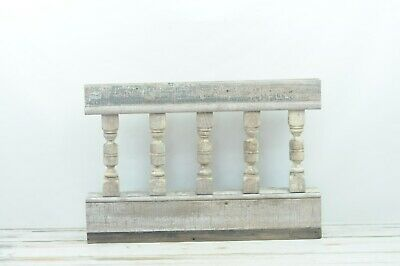 Antique Turned Balustrade Spindle Porch Rail Architectural Salvage #2
