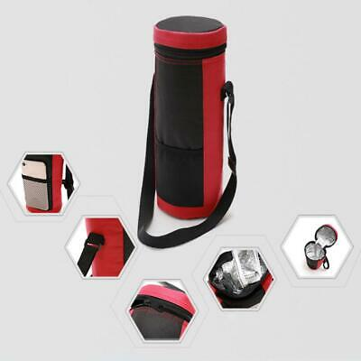 SANNENG Insulated Wine Bottle Tote Carrier Wine Travel Cooler Bag