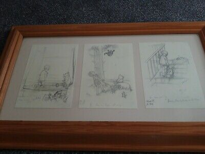 Winnie  The Pooh Framed Postcards