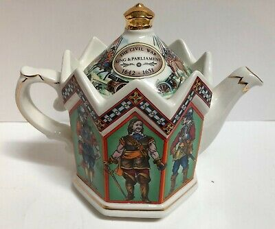 Sadler Charles the l King of England 1600-1649 Teapot Made in England