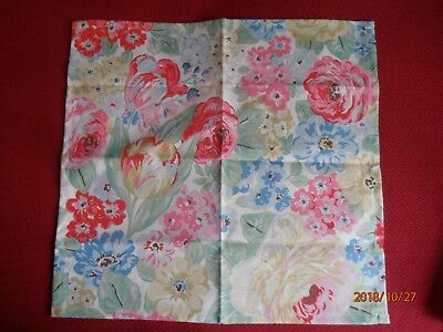 Cath Kidston Orchard Bloom Napkin - Fat Quarter Fabric - New Without Tags