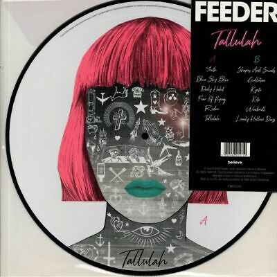 FEEDER - Tallulah (Deluxe Edition) - Vinyl (picture disc LP + MP3 download code)
