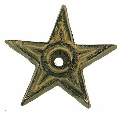 Cast Iron Star Center Hole Small Set of 12