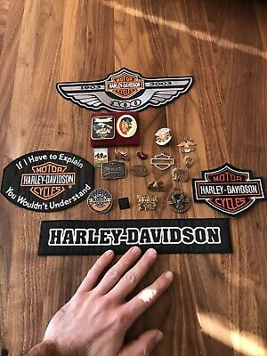 harley davidson pins lots Emblems