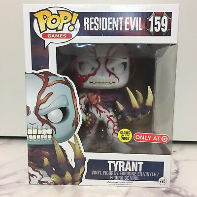 Funko Pop! Tyrant 159 Resident Evil Glow In The Dark Target Exclusive - Clean!