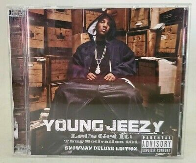 Let's Get It: Thug Motivation 101 Snowman Deluxe Edition CD & DVD by Young Jeezy