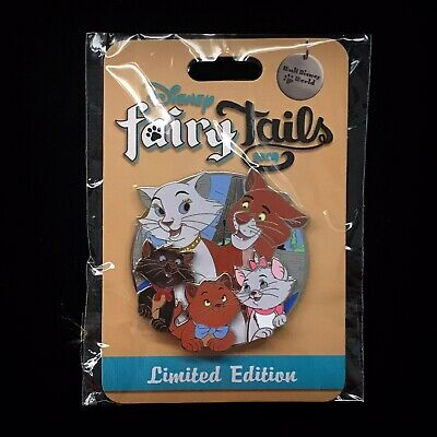 LE Fairy Tails Aristocats Duchess O'Malley Marie Berlioz Toulouse Cat Disney Pin