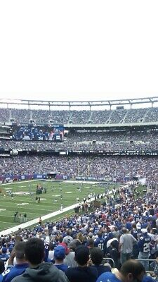 4 Lower Level Tickets Ny Giants Vs Arizona Cardinals 10/20/19 @ Metlife Stadium