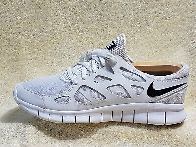 Nike Free Run 2 mens trainers White/Black UK 8.5 EU 43