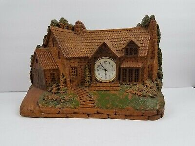 1920's Antique Mantle Shelf Clock Homestead by Lux Clock Company