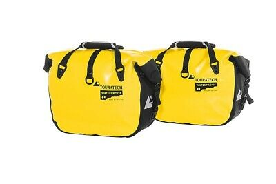 Side Pocket Endurance Click (Pair), Yellow, by Touratech Waterproof