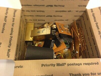 Box of miscellaneous Oscillator boards and other stuff