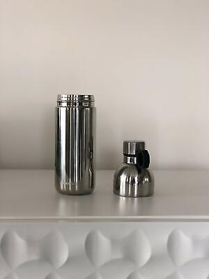 Starbucks Shimmering Silver Two-Piece Stainless Steel Water Bottle 20 Oz