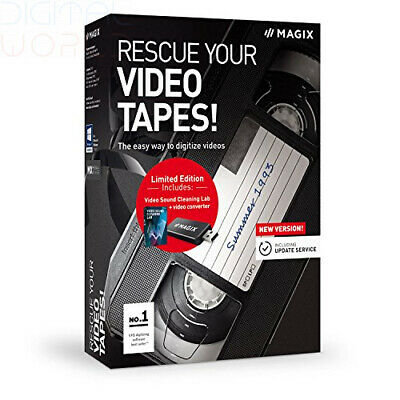 Rescue your Videotapes! - Version 9 - Digitizing Video Cassettes Made Easy...