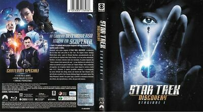 "BLURAY Set ""STAR TREK DISCOVERY Staffel 1"" deutsch uncut NEU"