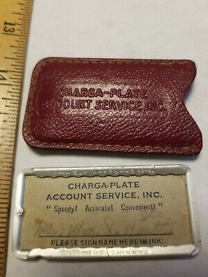 Charga-Plate Early Credit Card Baltimore Maryland