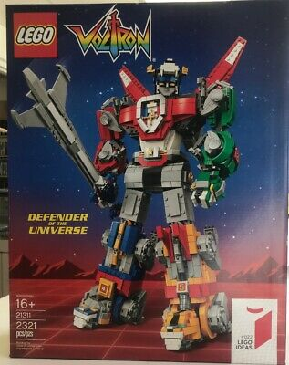 Sealed Lego Ideas Voltron (21311) Defender of the Universe