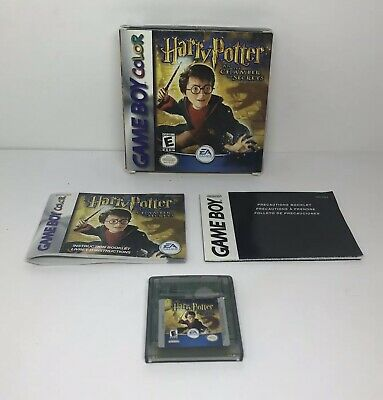 Harry Potter and the Chamber of Secrets (Nintendo Game Boy Color, 2002) COMPLETE