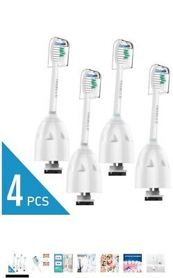 4X Tooth Brush Heads for Philips Sonicare e Series/Elite HX5910 Replacement etc