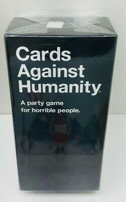 New Cards Against Humanity 550 Cards Party Game Horrible People Gift US