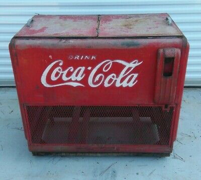Rare pre-1938 Tennessee Furniture Corp. Coca-Cola Cooler