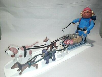 Memory Lane Rudolph Island Of Misfit Toys Yukon's Sled & Dog Team
