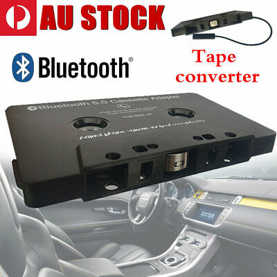 CAR Bluetooth AUDIO TAPE CASSETTE ADAPTER RECEIVER FOR IPHONE IPOD CD MP3 RADIO