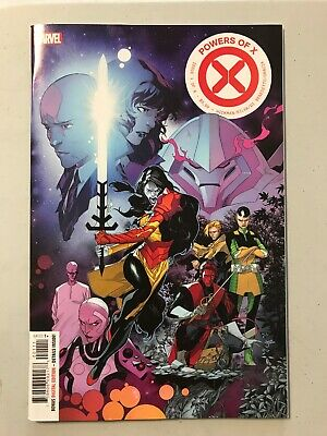 Powers of X (Marvel) 1A 2019 Silva Variant NM