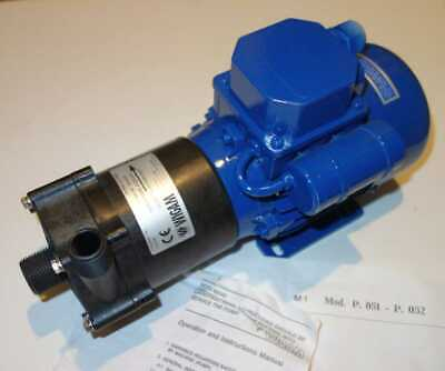"Wigam Magnetic Pump P051 115v/60Hz/2.6A 50 L/min In:3/4"",Out:1/2"" Italy-made NOS"