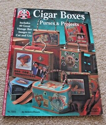 CIGAR BOXES Purses & Projects