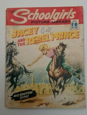 Schoolgirls  Picture Library No 298-Jacey and The Rebel Prince- 1965