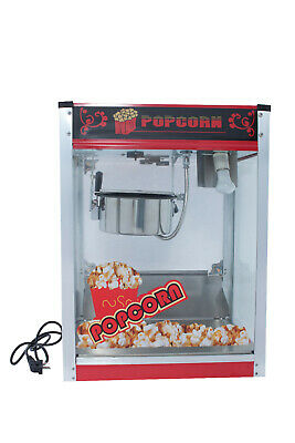 New Commercial Table Tap 8 Oz  Popcorn Machine 1300W Warranty Free Postage