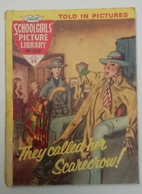 Schoolgirls  Picture Library No 109-They Called Her Scarecrow- 1960