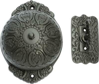 antique finish ornate manual door bell with turn handle,door ringer,TH 5509