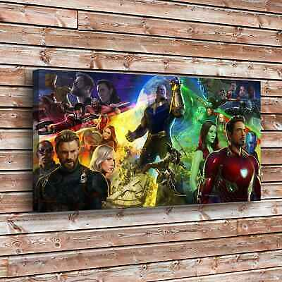 """709-Character Collection Painting HD Print on Canvas Home Decor Wall Art 16""""x32"""""""