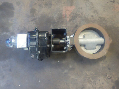 "TUFLINE XOMOX 10""-150 Butterfly Valve Wth Rotary Actuator & Air Torque Indicator"