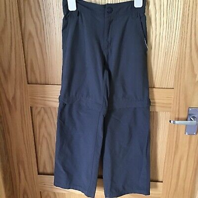 Boys The North Face Convertible Zip off Trousers/Shorts S 7-8