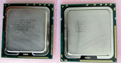 Matched Pair 2x Intel Xeon Processor X5675 3.06GHz CPU Hex Core SLBYL 12M Cache