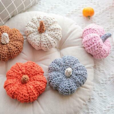 Cute Pumpkin Photography Photo Prop Home Decoration Hand Knitted Toys Gifts