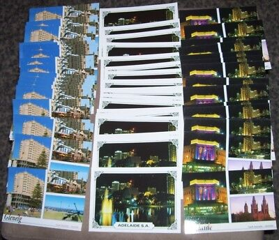 Lot Of Adelaide And Glenelg  Postcards