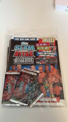 Topps Slam Attax Rumble Trading Card Collectors Binder (Topps, 2008)