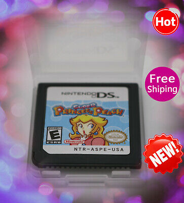 Super Princess Peach (Nintendo DS,2006) Game Only for DS 2DS 3DS Christmas Gift