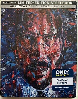 New John Wick 3 Parabellum 4K Ultra Hd Blu Ray Best Buy Exclusive Steelbook Le