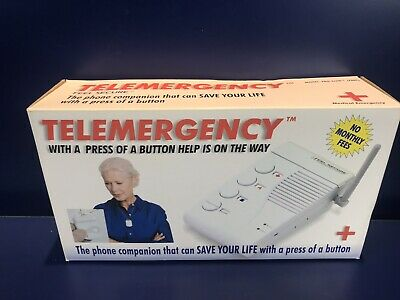 NOS Telemergency Pro-Elite 700C - Feel Secure Product - HELP IS ON THE WAY