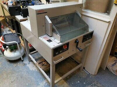 Ideal 4850 Guillotine will cut SRA3 FULLY WORKING