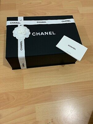 Chanel Medium Gift Box With Magnetic Close Brand New